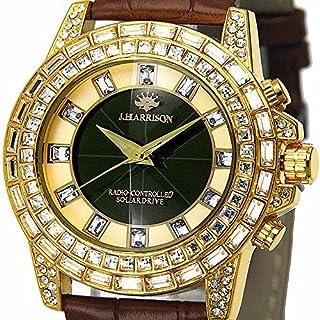 【ジョンハリソン/JOHN HARRISON】 メンズ 腕時計 ソーラー 電波 JH-097GB