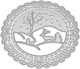 Cutting Dies,IHGTZS 2019 Metal Die-Cut Stencils For DIY Scrapbooking Photo Album Paper Card Gift New Flower Heart Metal Die-Cut Stencils DIY Scrapbooking Album Paper Card