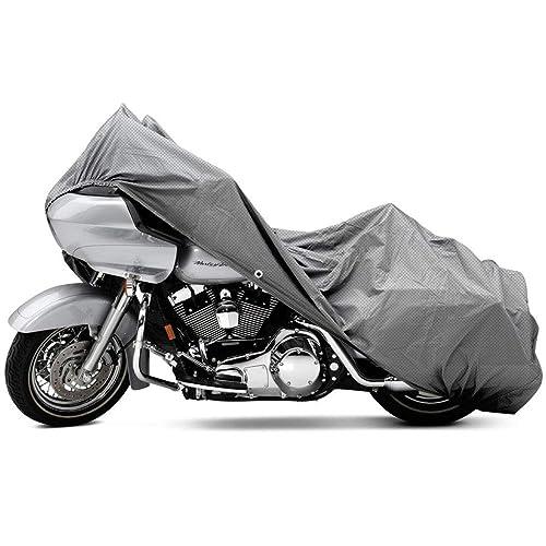 LTC Waterproof Motorcycle Cover for Harley Davison Honda Suzuki Kawasaki Yamaha