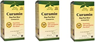 Terry Naturally Curamin - 60 Vegan Capsules - Non-Addictive Pain Relief Supplement with Curcumin from Turmeric, Boswellia ...