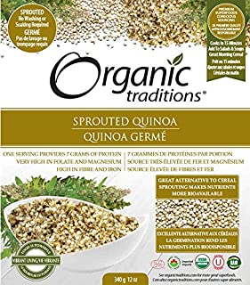 Organic Traditions Sprouted Quinoa, 340 gm