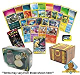 150 Pokemon Card Lot - Featuring 1 Tag Team GX Ultra Rare - 50 Energy - Foils - Rares - Commons Uncommons - 1 Random Booster Pack! Comes in Pokemon Tin! Includes Golden Groundhog Treasure Chest Box!
