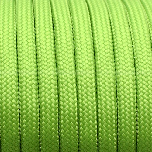 sacoora 1pcs 100ft 550 Paracord Parachute Cord Lanyard Mil Spec Type III 7 Strand Core (color 130)