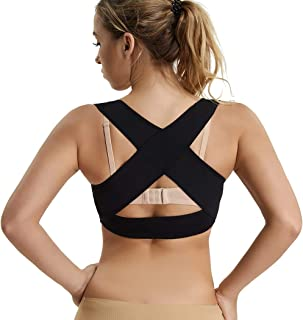 X Strap Bra Support for Women Chest Brace Up Posture Corrector Shapewear Vest