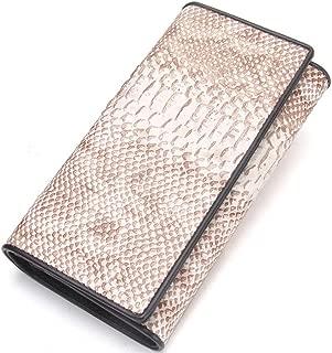 Female Wallet Leather Iron Hinge Bag Fashion Clutch Bag JJXSHLFLL (Color : Beige, Size : S)