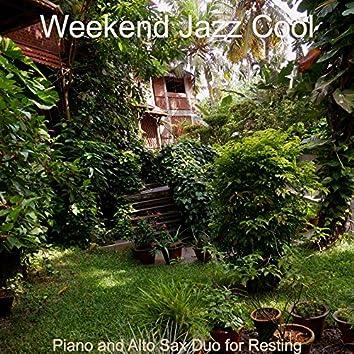 Piano and Alto Sax Duo for Resting