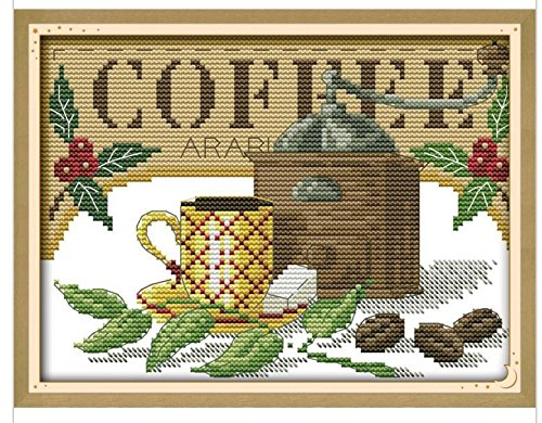 Cross Stitch Kit, DIY Needlework Handmade Embroidery Home Room Decor 11CT