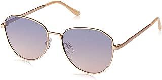 Seafolly Women's Scarborough SEA1812701 Square Sunglasses,Rose Brown,55 mm