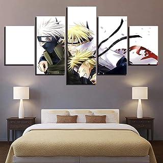 Impressions Sur Toile,5 Tableau Peinture,Décoration Maison Moderne,Modulaire Panneaux Motif Tableau,Cadeau D'Anniversaire,...