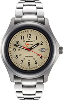 Armourlite AL302 Field Series Tritium Watch with Metal Band