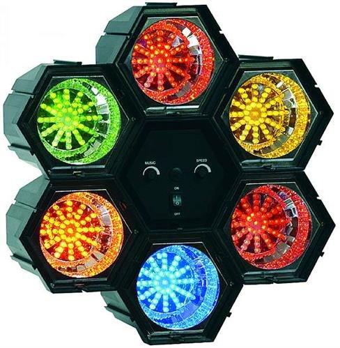 "Lichtorgel McVoice \""LO-LED-6/282\"", 6-Kanal, 230V, 282 L"