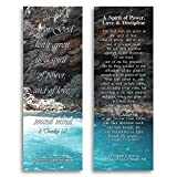 eThought BB-B041-25 2 Timothy 1:7 A Spirit of Power, Love and Discipline Bookmark Size Bible Verse Cards (Pack of 25), 2' x 6'