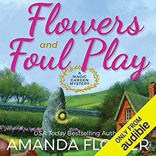Flowers and Foul Play audiobook cover art