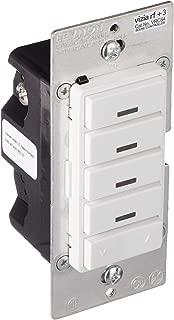 Leviton VRCS4-M0Z Vizia RF + 4-Button Remote Scene Controller