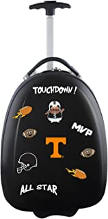 Mojo Licensing Unisex-Adult NCAA Texas A&M Aggies Kids Lil' Adventurer Luggage Pod CLTAL601_Black-P, NCAA Tennessee Volunteers Kids Lil' Adventurer Luggage Pod, CLTNL601_Black, Black, 4.8