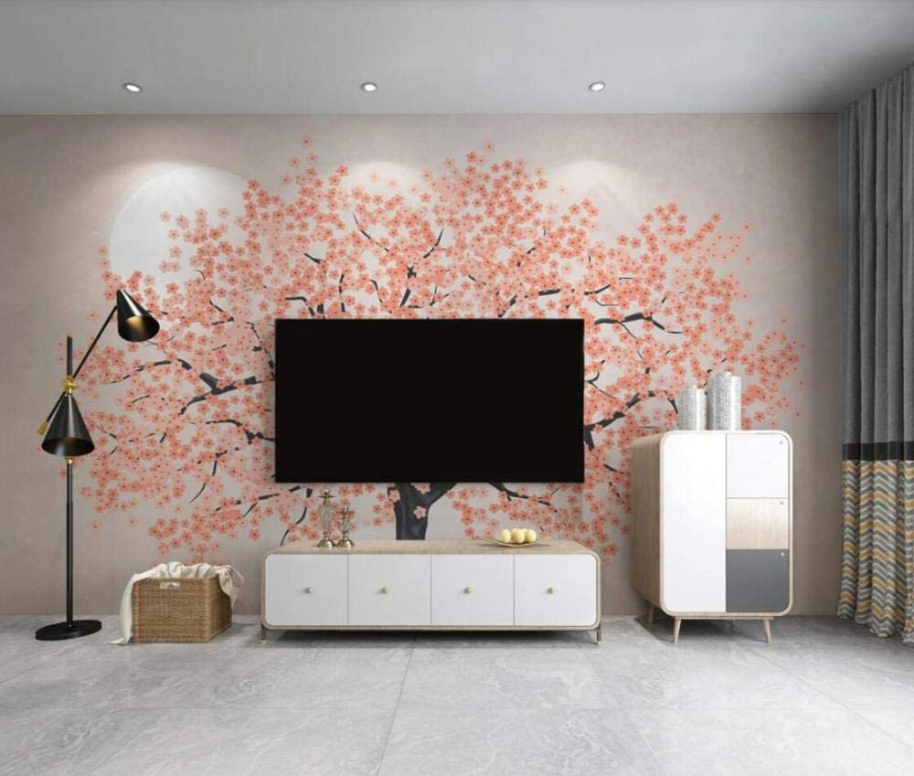 Wall Murales 3D Wallpaper Cherry Max High quality new 79% OFF Blossom Tree Abstract