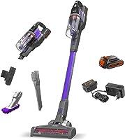 مكنسة كهربائية لاسلكية 4 في 1 باور سيريز اكستريم بت ستيك، 18 فولت، 1.5 لتر، بنفسجي/رمادي - BDPSE1815P-QW، ضمان سنتان