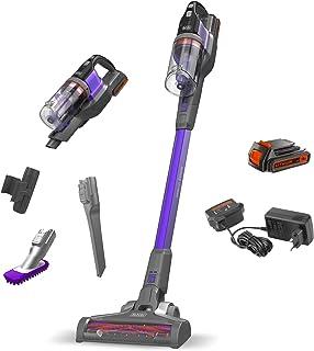 BLACK+DECKER BDPSE1815P-QW - Aspirador de escoba sin cable Power Series Extreme 18V, con bater?a litio 1.5Ah, especial mascotas