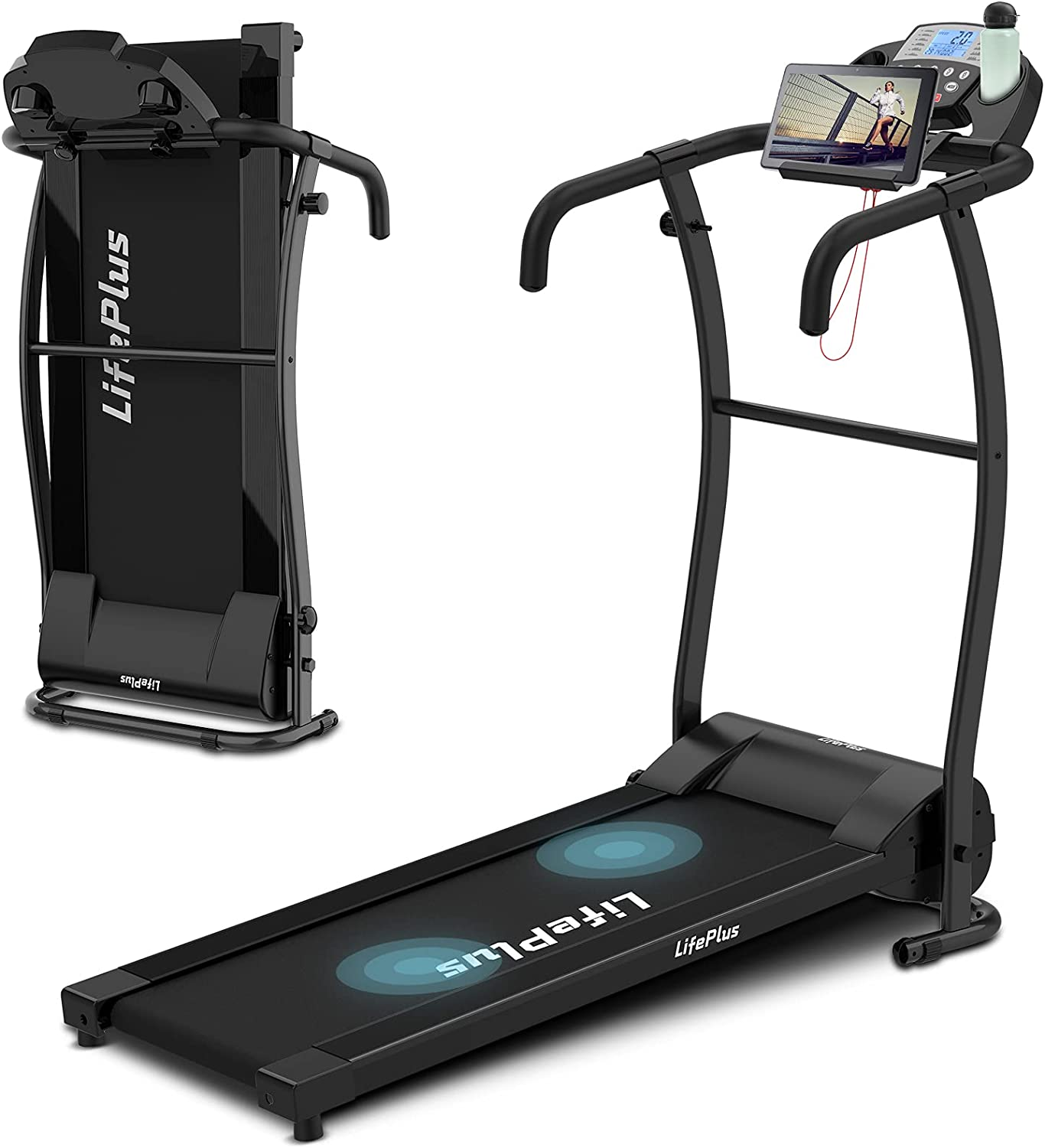 Max 66% OFF sale Folding Treadmill Electric Walking Running Comp Machine Exercise