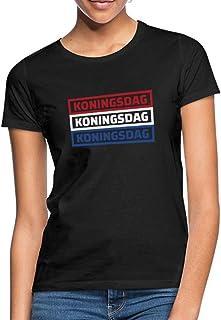 Spreadshirt Koningsdag Holland Vlag Vrouwen T-shirt