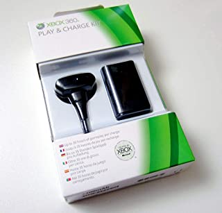 Microsoft Xbox 360 Black Play and Charge Kit