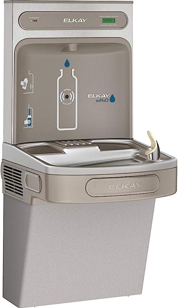 Elkay LZS8WSLK EZH2O Bottle Filling Station with Single ADA Cooler