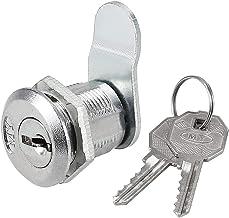 DealMux Lade en Kast Offset Cam Lock, 20mm Cilinderlengte, Past op 1/2-inch Max Paneeldikte, Zink Legering Chroom Afwerkin...