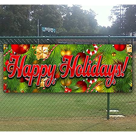 Holiday Special 45/% Off 13 oz Banner Heavy-Duty Vinyl Single-Sided with Metal Grommets