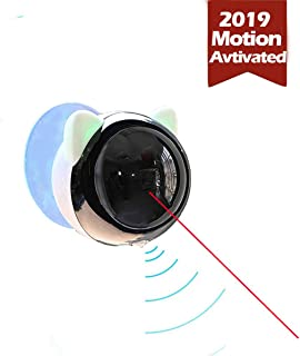 motion activated laser pointer