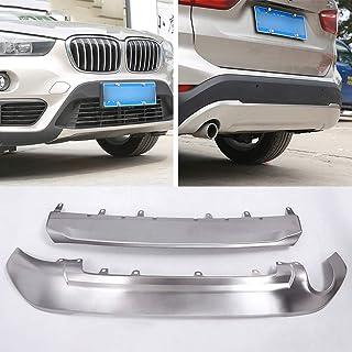 2009-2015 BMW X1 E84 Carbonio Protezione per paraurti posteriore in acciaio Scratch Guard S.
