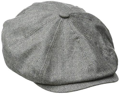 Stetson Men's Cashmere Blend 8/4 Cap with Silk Lining, Gray, X-Large -  Dorfman Pacific Co. Inc Men's Headwear