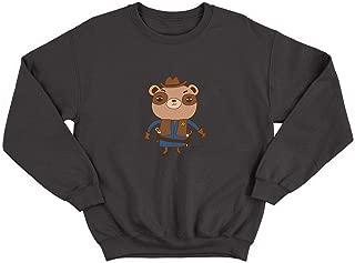 Sheriff Teddy Bear Western_006187 Ugly Christmas Sweater Crewneck Suéter Christmas X-mas GiftFor Him Her