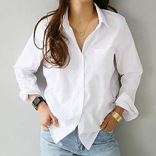 N\A Dames rétro Blouse Ample vêtements de Travail décontractés Bureau Dames Doux Blanc OL Style Dames Chemisier Chemisier ...