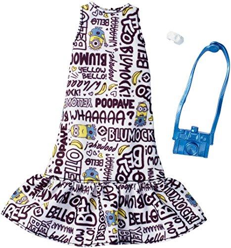バービー人形 着替え用 洋服 Despicable Me ミニオン フリルワンピース 服 アクセサリー ファッションセット