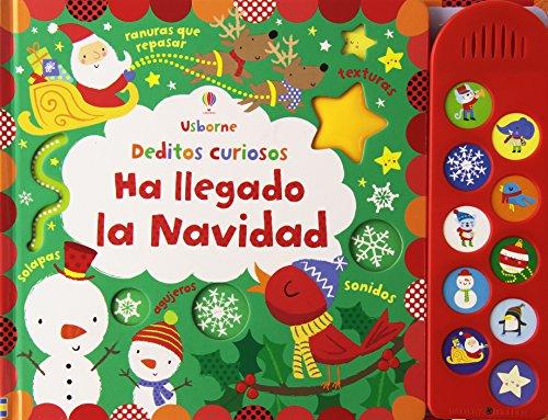 Ha llegado la Navidad. Colección Deditos Curiosos de Usborne
