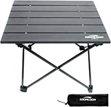 soomloom テーブル アウトドアテーブル アルミ製テーブル 折り畳み式テーブル 組立簡単 超軽量 収納便利 エクササイズ 収納ケース付き フレーム一体化 耐荷重30㎏