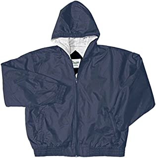 Classroom Uniforms 53402 Youth's Zip Front Bomber Jacket Navy X-Small