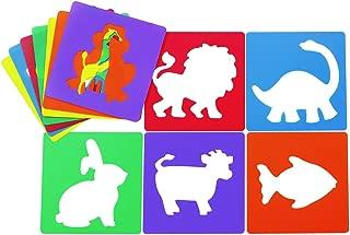 Colorations Animal Shape Stencils Set of 12 8