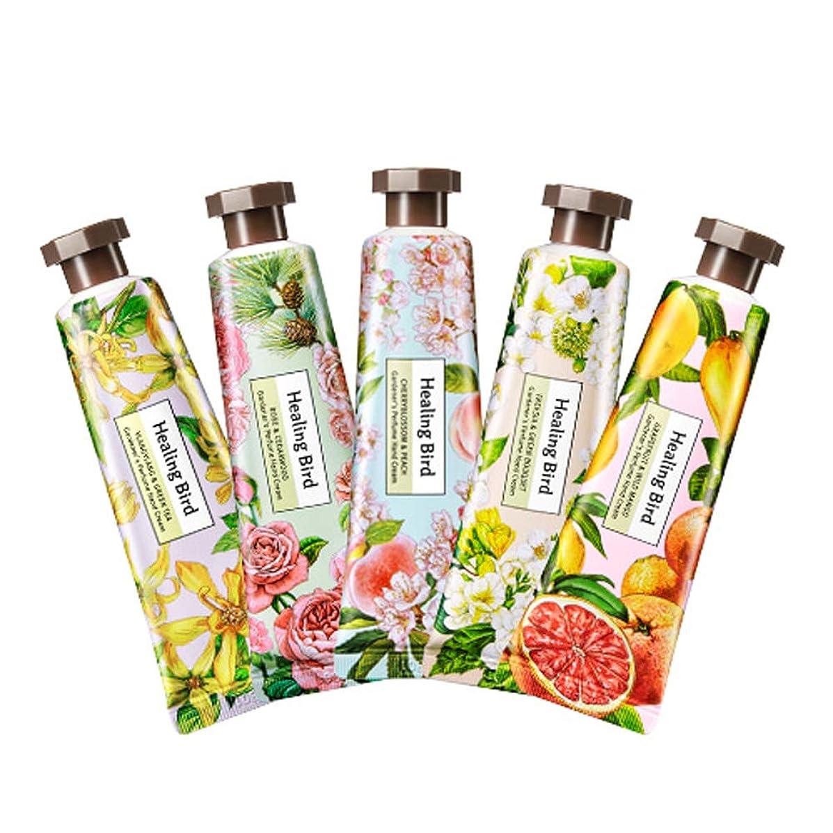 障害者アナウンサーロック解除Healing Bird Gardener's Perfume Hand Cream 30ml ヒーリングバード カドゥノスパヒュームハンドクリーム (Grapefruit & Wild Mango) [並行輸入品]