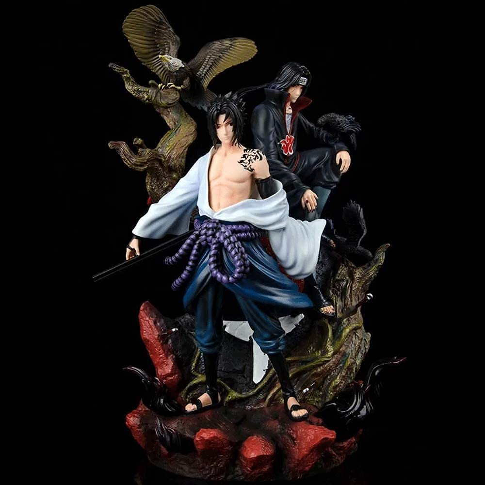 half Naruto Shackles Gk Love Hate Uchiha Co Sasuke Super sale period limited Itachi 36cm