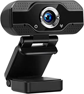 1080P USB Webcam with Microphone for Laptop Desktop PC Streaming Computer Webcam for Video Calls Recording Conferences