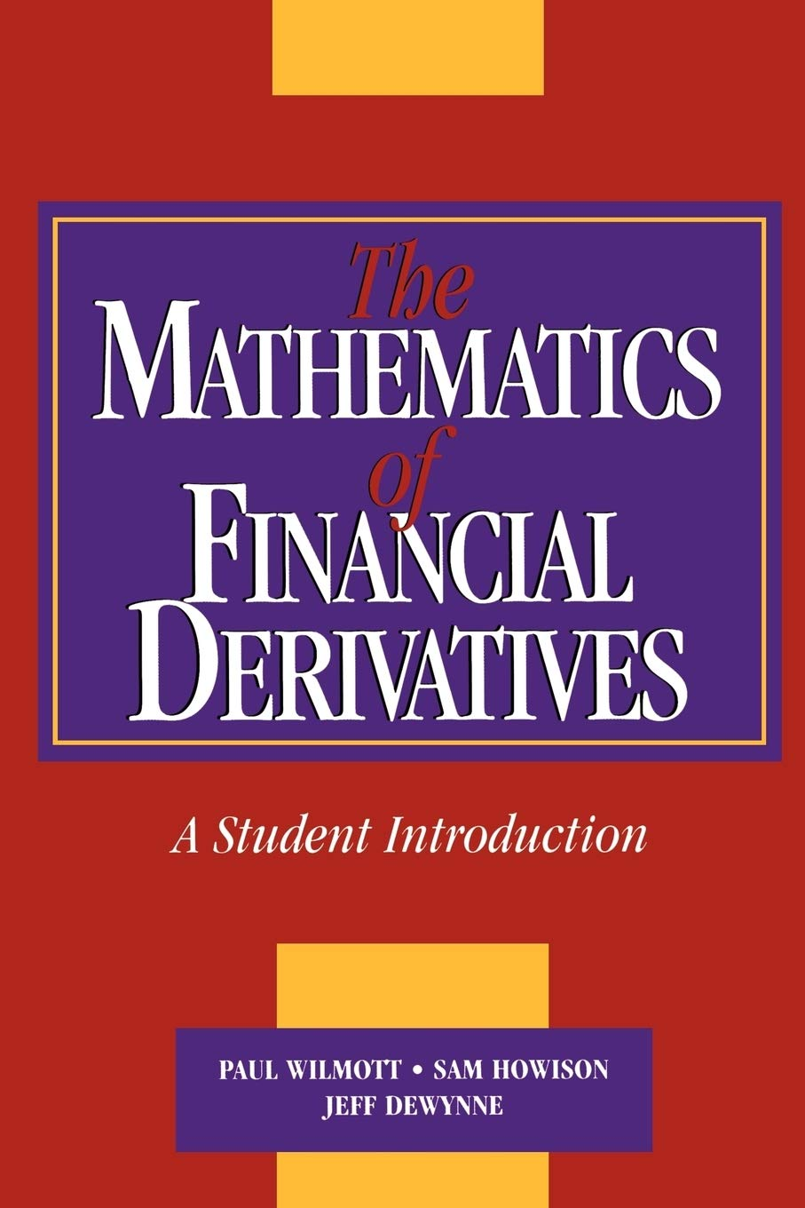 Download The Mathematics Of Financial Derivatives: A Student Introduction 