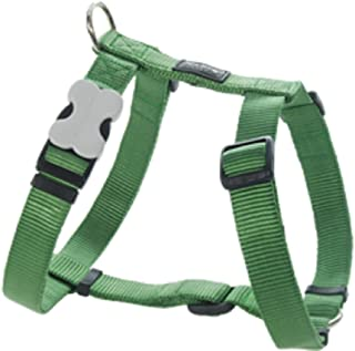 Red Dingo Classic Dog Harness, Large, Green