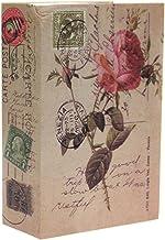 Benedict Woordenboek Mini Safe Box Boek Geheime Veiligheid Safe Key Lock voor Kinderen Geschenk Duurzaam Retro Cover/Dicti...