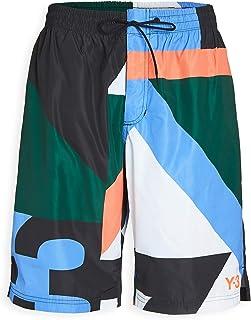 Y-3 Men's Y-3 Logo Neon Swim Shorts