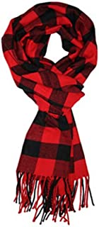 Best mens red and black plaid scarf Reviews