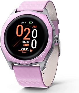$35 » RONSHIN Smart Fitness Bracelet Blood Pressure Measurement Relogio Heart Rate Smart Band Watch Full Touch Screen Smart Watch Pink Electronic Accessories