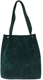 Women Bags Corduroy Tote Shopping handbag Ladies Casual Shoulder Bag Female Cotton Cloth