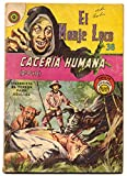 El Monje Loco #38 1968- Mexican horror comic- Brutal dog attack cover