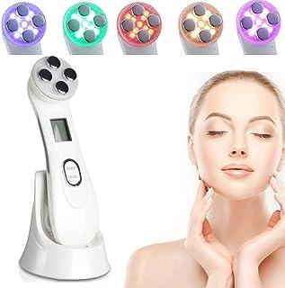 YXYOL Facial Aparato Radiofrecuencia 6 en 1,Rejuvenecimiento Limpieza Profunda Facial Instrumento Antiarrugas RF LED Ultrasonido Cuidado Facial Anti-envejecimiento